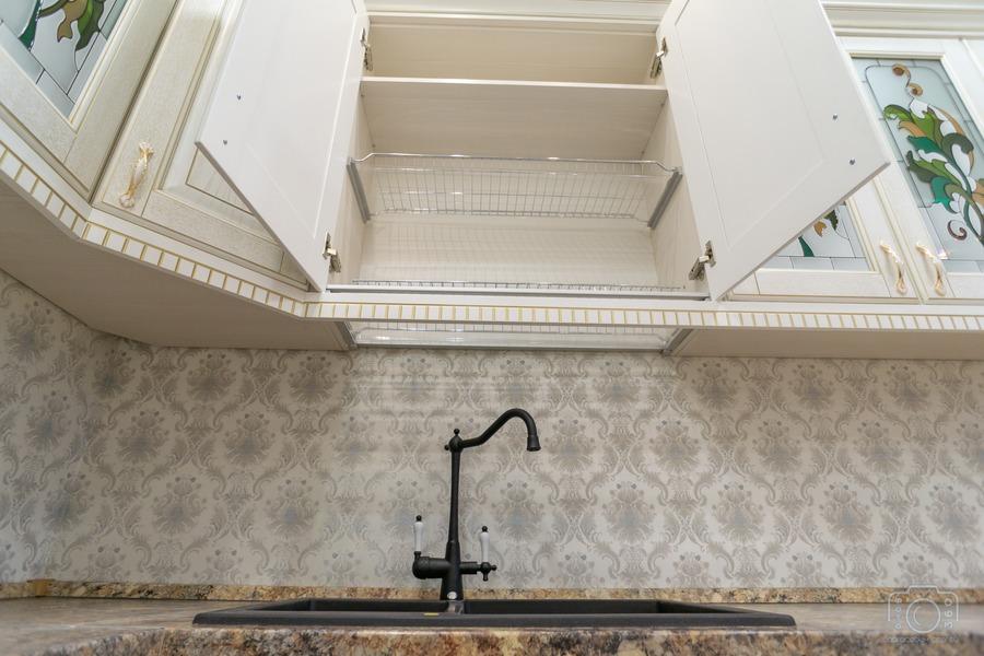 Бежевые кухни-Кухня из шпона «Модель 8»-фото8