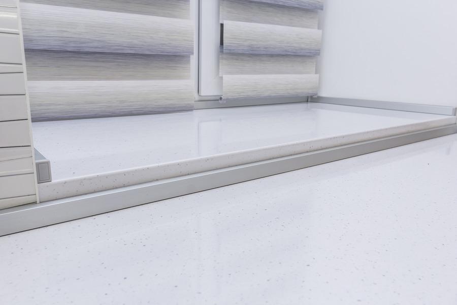 Белый кухонный гарнитур-Кухня МДФ в ПВХ «Модель 9»-фото8