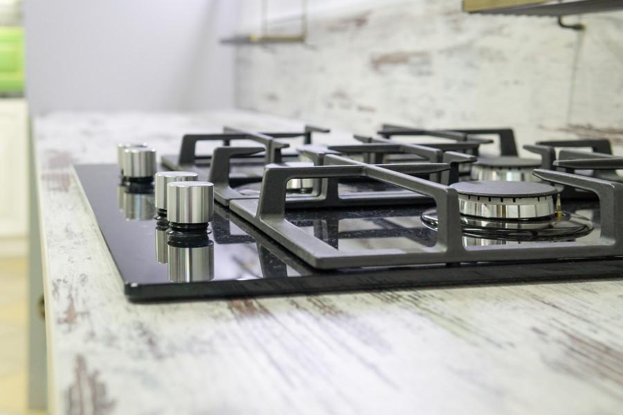 Встроенная кухня-Кухня из массива «Модель 46»-фото7