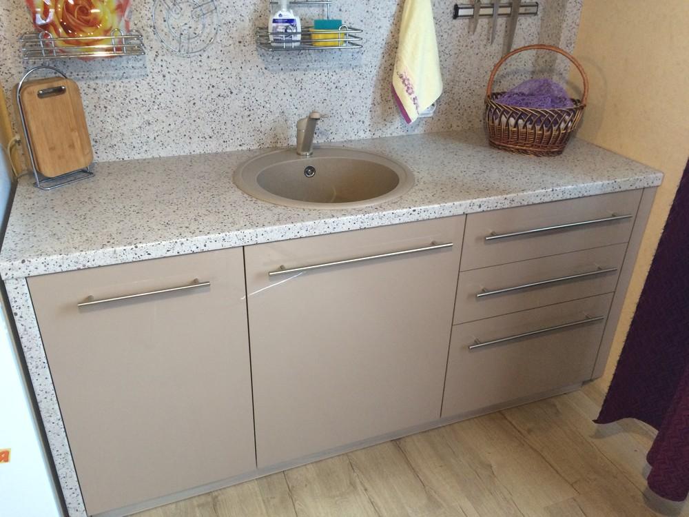 Акриловые кухни-Кухня из пластика «Модель 104»-фото12