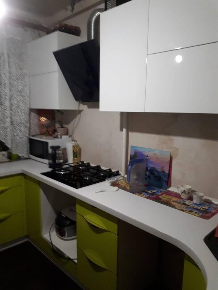 Встроенная кухня-Кухня МДФ в ПВХ «Модель 315»-фото3