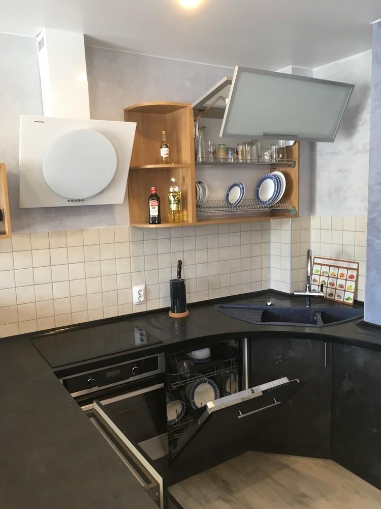 Встроенная кухня-Кухня МДФ в ПВХ «Модель 316»-фото5