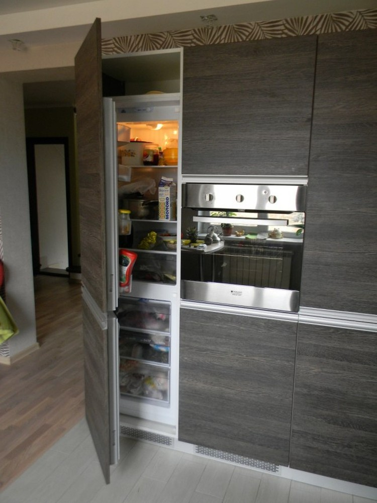 Акриловые кухни-Кухня из пластика «Модель 236»-фото5