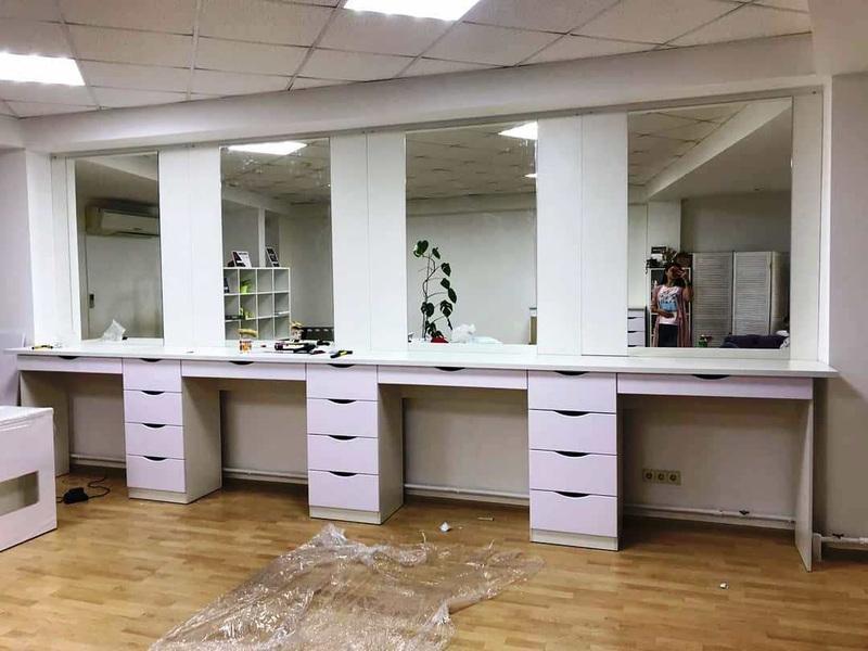 Торговая мебель-Мебель для салона «Модель 118»-фото1