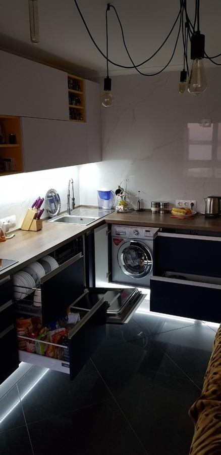 Встроенная кухня-Кухня из пластика «Модель 336»-фото8