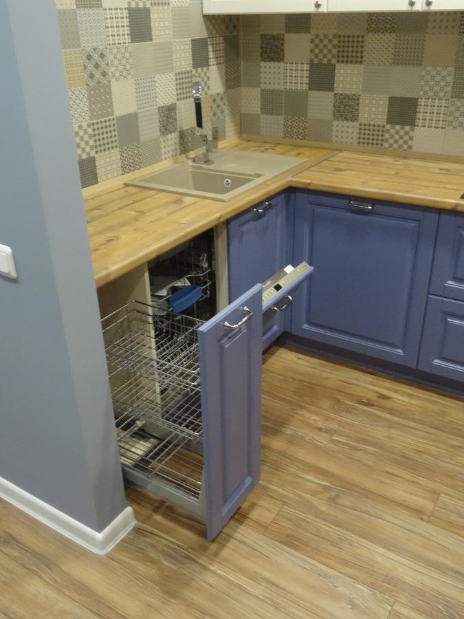 Встроенная кухня-Кухня МДФ в ПВХ «Модель 510»-фото5