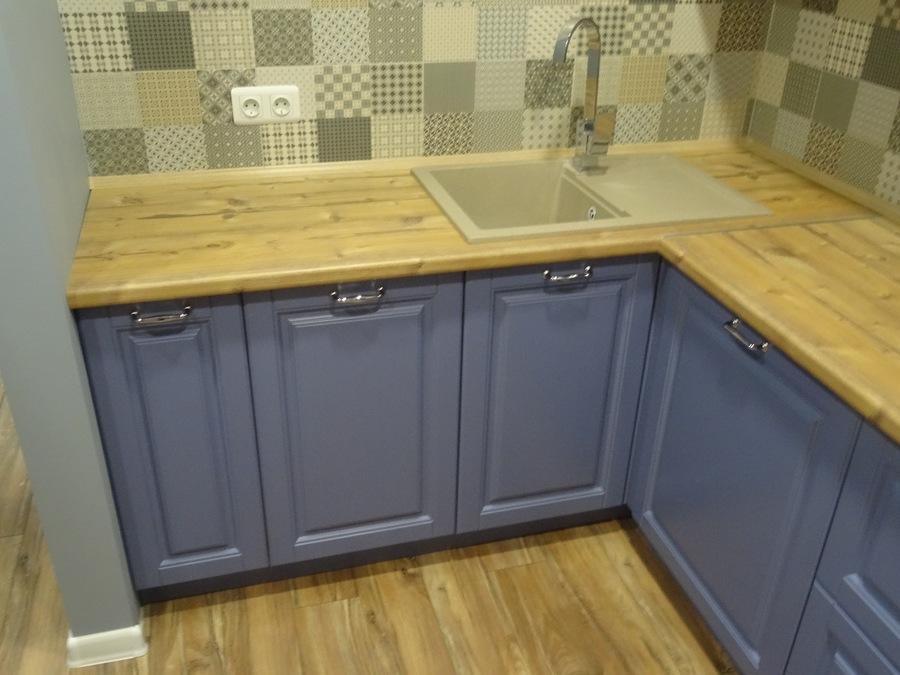 Встроенная кухня-Кухня МДФ в ПВХ «Модель 510»-фото4