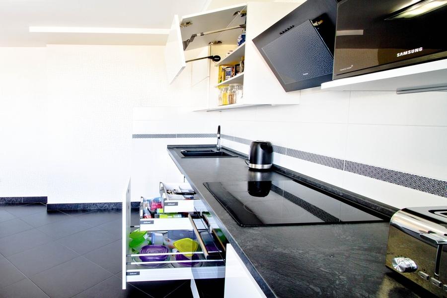 Акриловые кухни-Кухня из акрила «Модель 405»-фото4