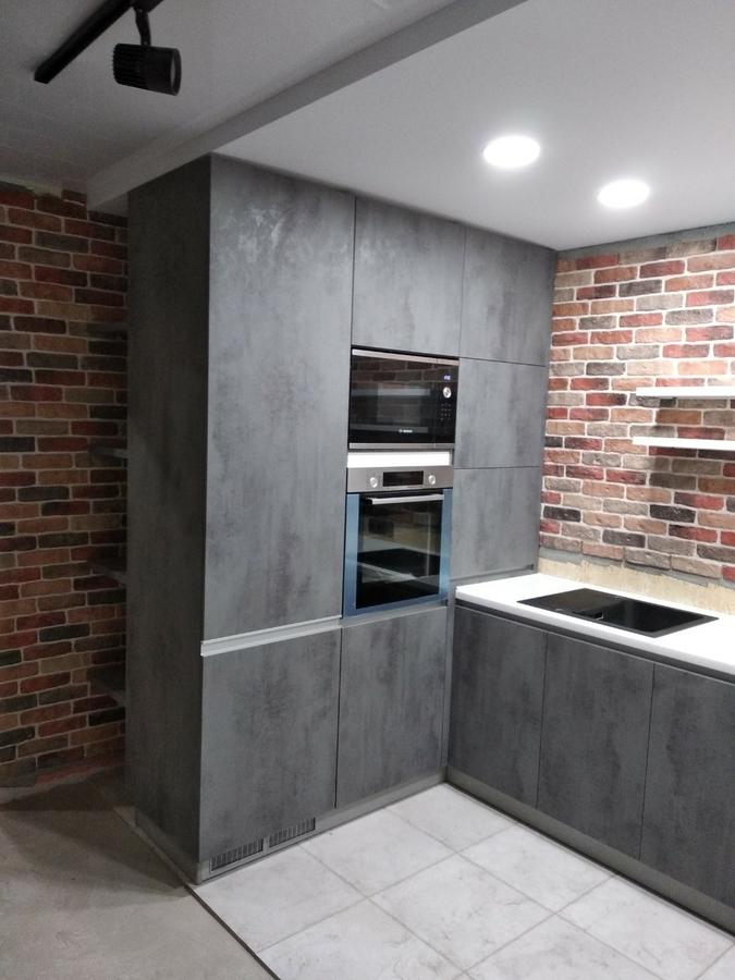 Купить кухню-Кухня МДФ в ПВХ «Модель 442»-фото3