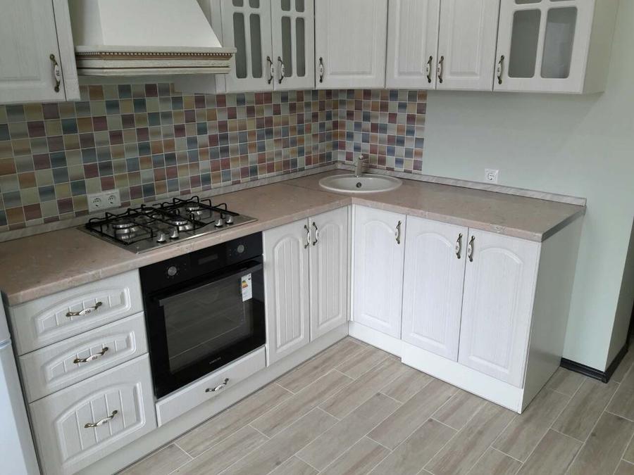 Белый кухонный гарнитур-Кухня «Модель 479»-фото3