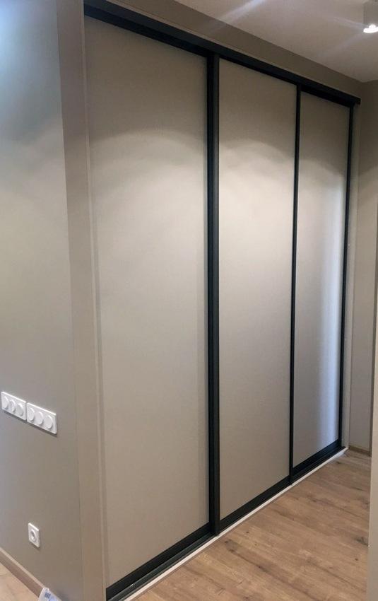 Встроенные шкафы-купе-Шкаф-купе из ДСП «Модель 238»-фото1