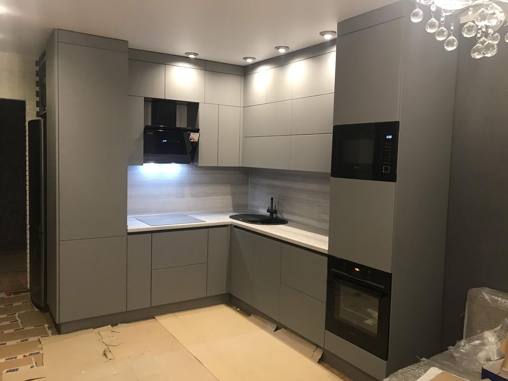 Купить кухню-Кухня МДФ в ПВХ «Модель 549»-фото1