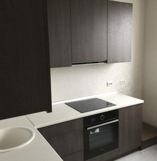 Акриловые кухни-Кухня из пластика «Модель 86»-фото4