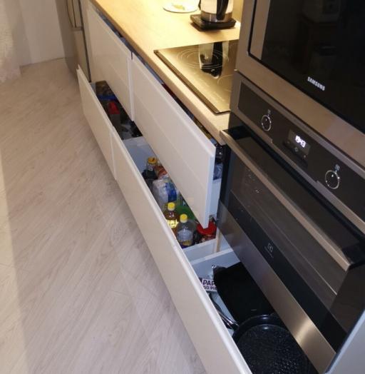 -Кухня МДФ в эмали «Модель 144»-фото22