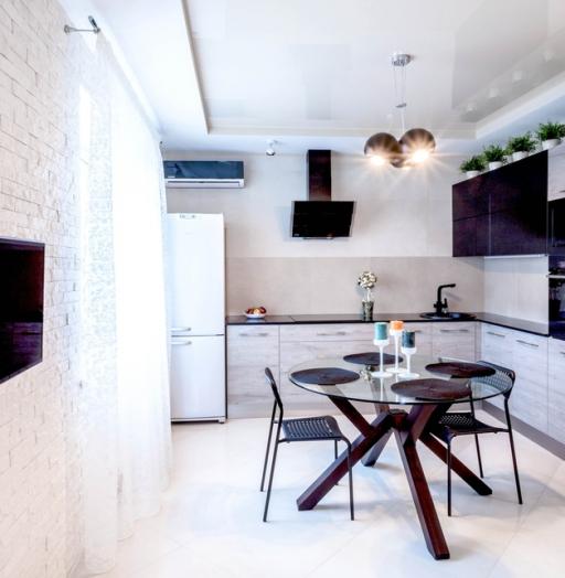 Встроенная кухня-Кухня из ЛДСП «Модель 410»-фото4