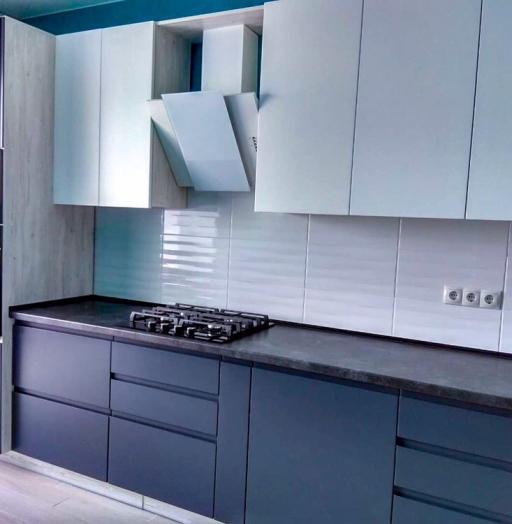-Кухня МДФ в эмали «Модель 419»-фото30