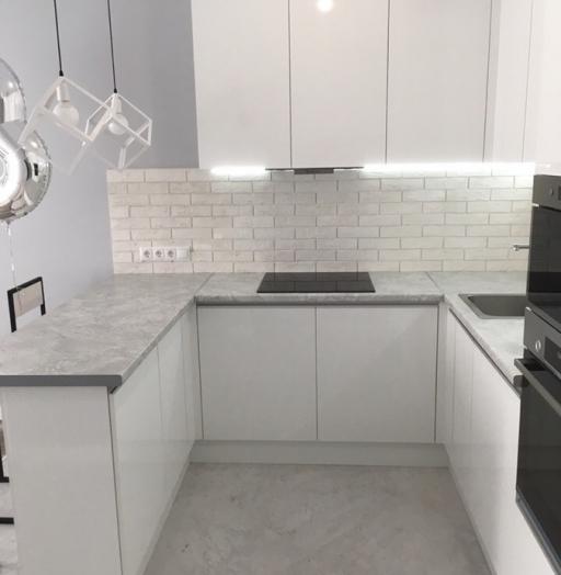 -Кухня МДФ в эмали «Модель 431»-фото26