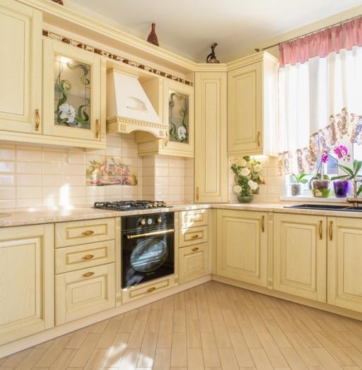 -Кухня из шпона «Модель 3»-фото1