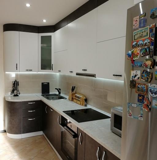 -Кухня МДФ в ПВХ «Модель 27»-фото13