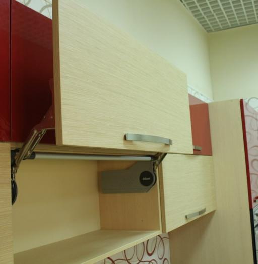 Акриловые кухни-Кухня из пластика «Модель 129»-фото15