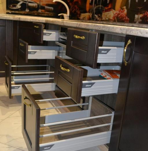 -Кухня из массива «Модель 160»-фото13