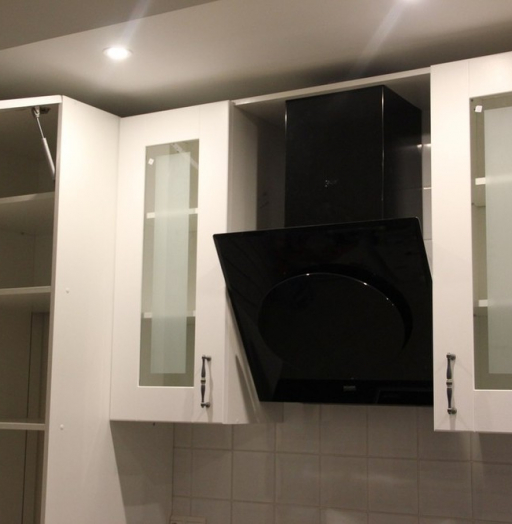 Белый кухонный гарнитур-Кухня из массива «Модель 175»-фото5