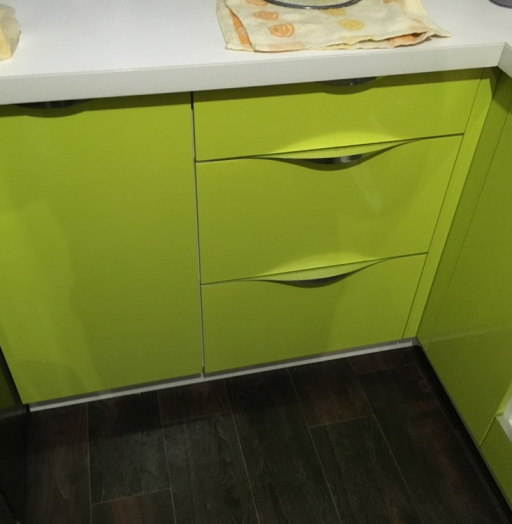 Встроенная кухня-Кухня МДФ в ПВХ «Модель 315»-фото6