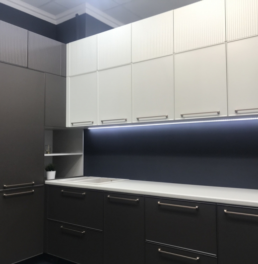 Купить кухню-Кухня МДФ в пластике «Модель 551»-фото16