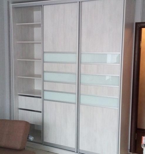 Белые шкафы-купе-Шкаф-купе из ЛДСП «Модель 41»-фото4