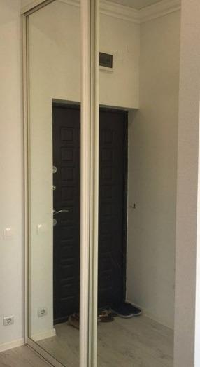 Белые шкафы-купе-Шкаф-купе с зеркалом «Модель 218»-фото2